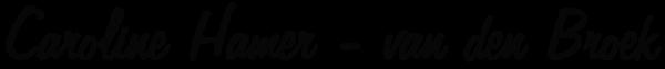 CarolineHamer web logo